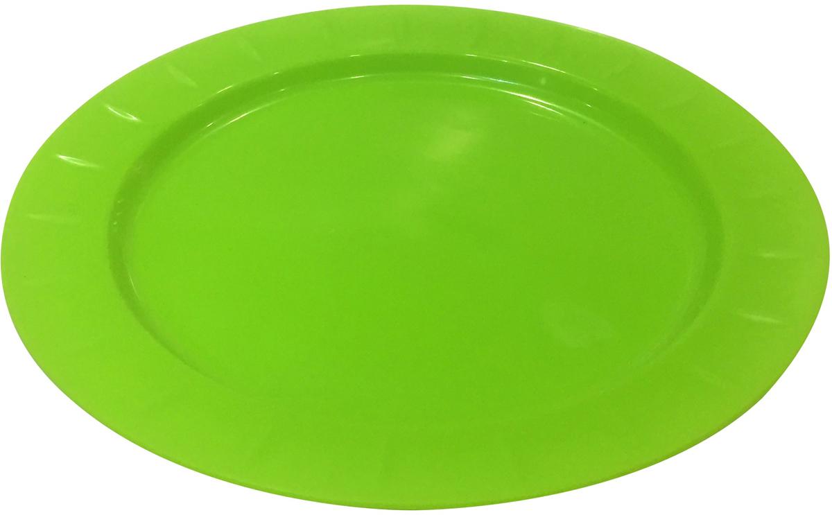 Новинка от Giaretti- тарелка Bono прекрасно подходит для сервировки стола, сделана из полипропилена. В отличие от одноразовой посуды тарелку можно использовать в течение одного или нескольких сезонов.