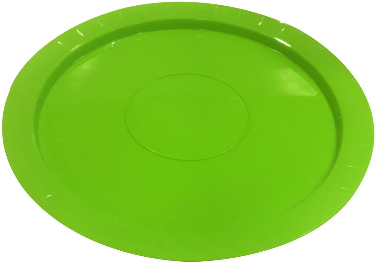 Сервирочное блюдо Bono, размером d310х14 мм,отлично подчеркнет любой стол. Если вы собрались своей теплой компанией отправиться на природу, блюдо замечательно урасит ваш стол . Удобно то, что вы можете пзволить себе использовать блюдо не одноразово.
