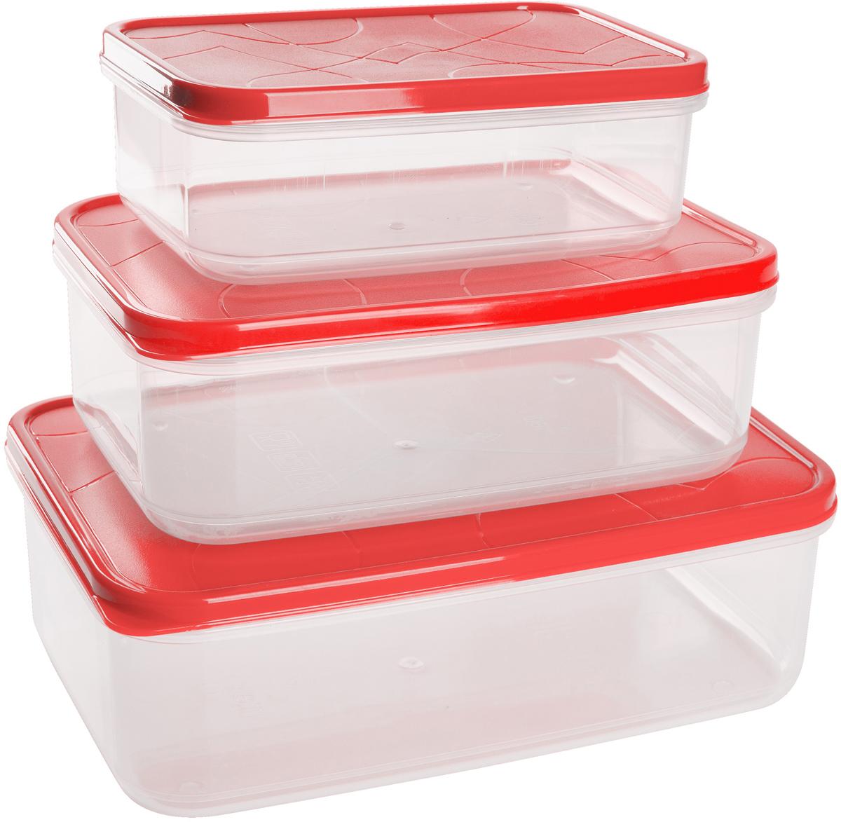 Положить в холодильник остатки еды, взять с собой обед в дорогу, заморозить овощи на зиму – все это можно сделать с контейнерами Vitamino. Контейнеры можно использовать для заморозки и хранения продуктов. Подходят для микроволновой печи. А благодаря плотной полиэтиленовой крышке еда дольше сохраняет свою свежесть. Контейнеры вкладываются друг в друга по принципу матрешки экономя пространство при хранении.
