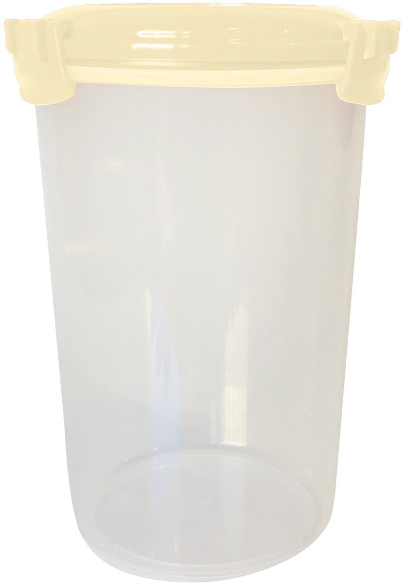 Емкость для продуктов Giaretti Fresco, цвет: сливочный крем, 1,1 лGR1894СЛЕмкость для продуктов Fresco