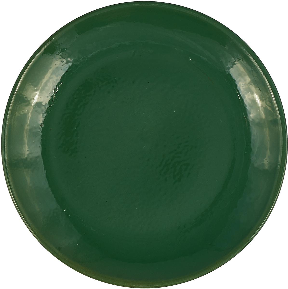 Тарелка Борисовская керамика Радуга, цвет: зеленый, диаметр 23 смРАД14458120_зеленый