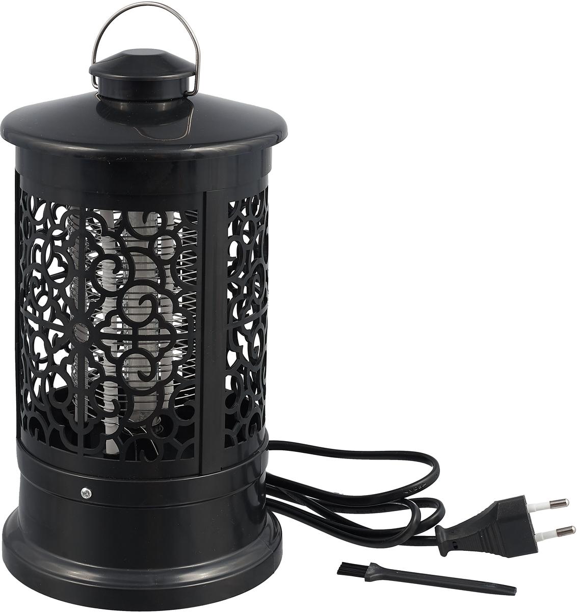 Лампа антимоскитная Proffi Home, цвет: черный, 3 Вт, 13,5 х 13,5 х 24 см
