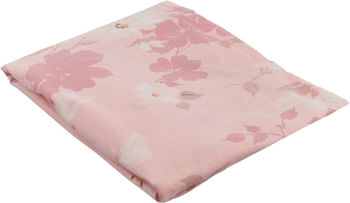 """Наволочка на подушку для всего тела """"Легкие сны"""", цвет: розовый, форма 7."""