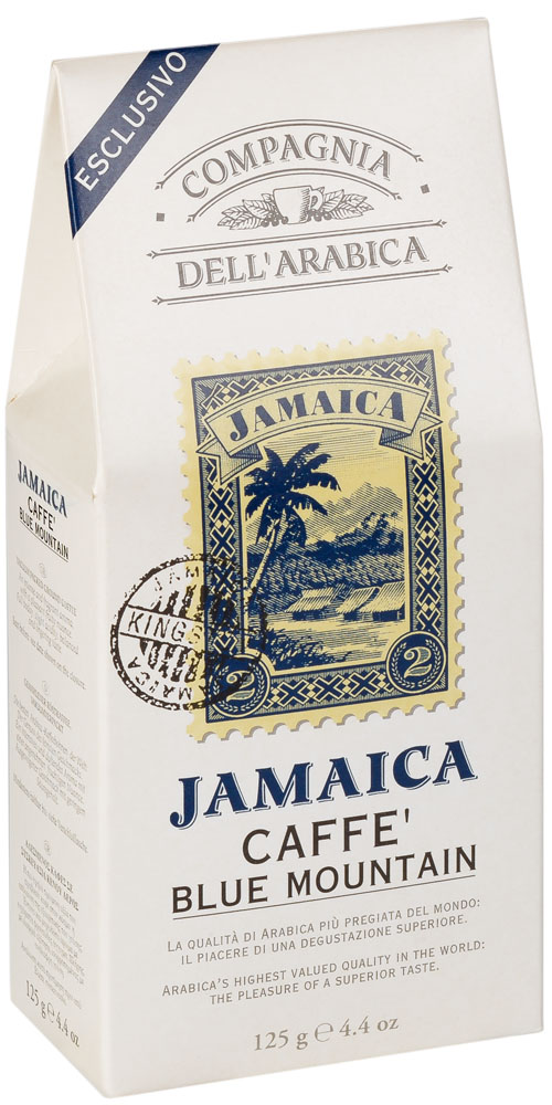 Compagnia Dell'Arabica jamaica blue mountain кофе молотый, 125 г jamaica jamaica no problem