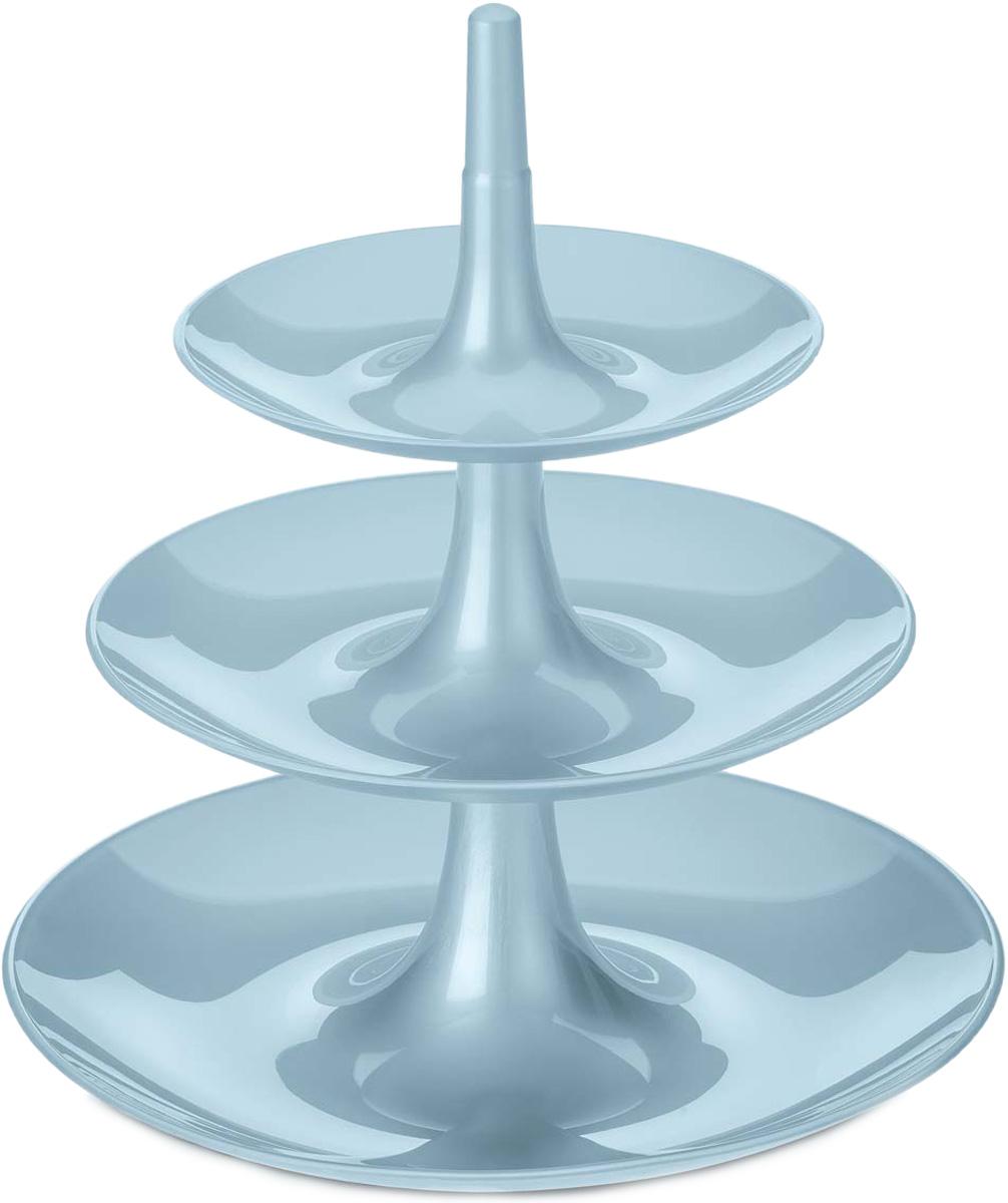 Этажерка BABELL успешно справится с сервировкой фруктов, десертов и закусок, не занимая много места на праздничном столе. После использования компактно складывается в обратном порядке. Благодаря лаконичному дизайну её можно использовать как универсальный органайзерОсобенности:- компактное хранение