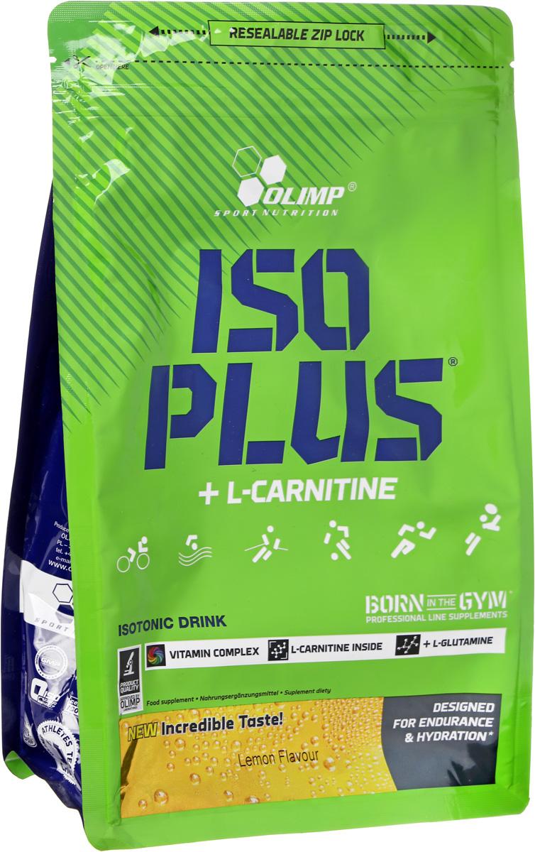 Изотонический напиток Olimp Sport Nutrition Iso Plus Powder, лимон, 1505 г гейнер olimp sport nutrition gain bolic 6000 ваниль 3500 г