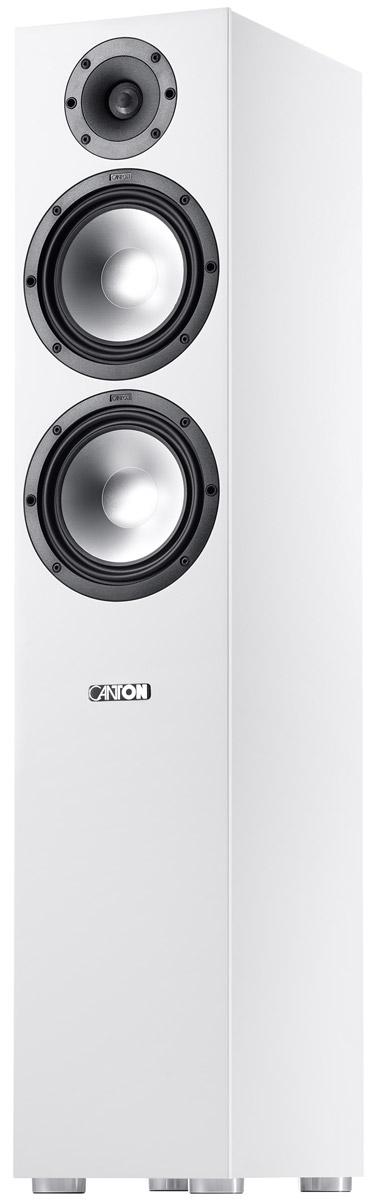 Canton GLE 476.2, White акустическая система (1 шт.) напольная акустическая система canton gle 496 white white fabric cover
