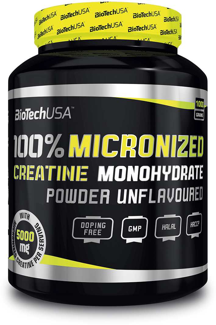 Креатин моногидрат BioTech, 1 кг dymatize nutrition моногидрат креатина dymatize creatine micronized 500гр