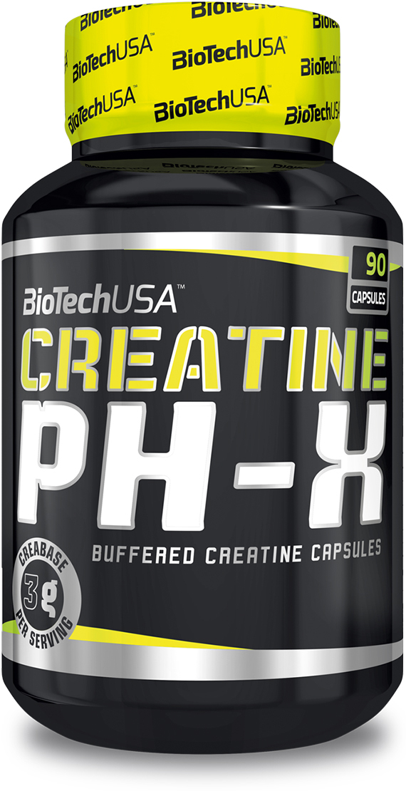 Креатин BioTech Creatine pH-X, 90 капсул креатин моногидрат sport technology nutrition creatine 300 г