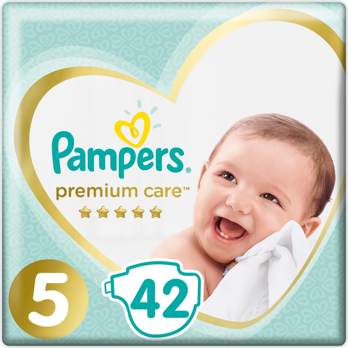 Pampers Подгузники Premium Care Junior 11-16 кг 42 шт