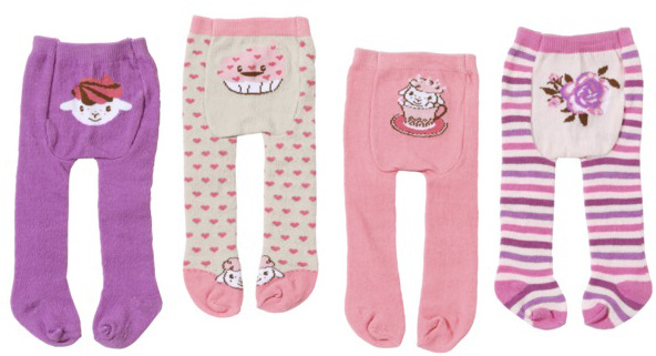 Zapf Creation Одежда для кукол Baby Annabell Колготки baby annabell одежда для кукол носки 2 пары цвет мятный белый