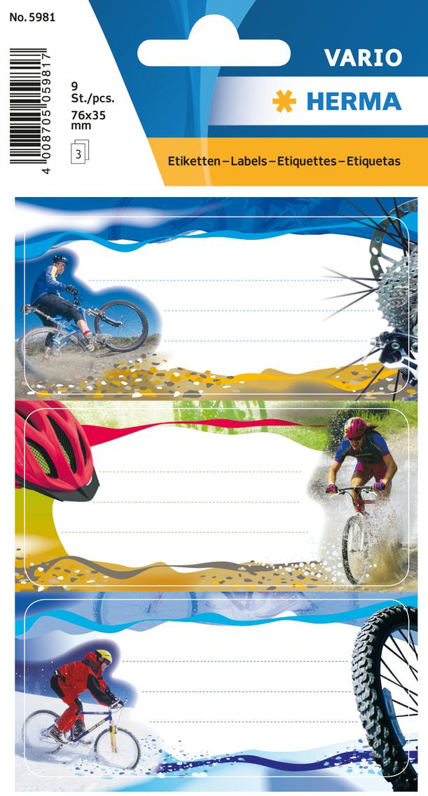цена на Herma Наклейки Vario Велоспорт
