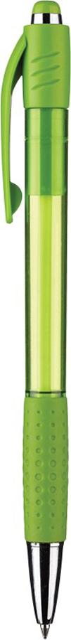 Attache Ручка шариковая Happy синяя корпус зеленый