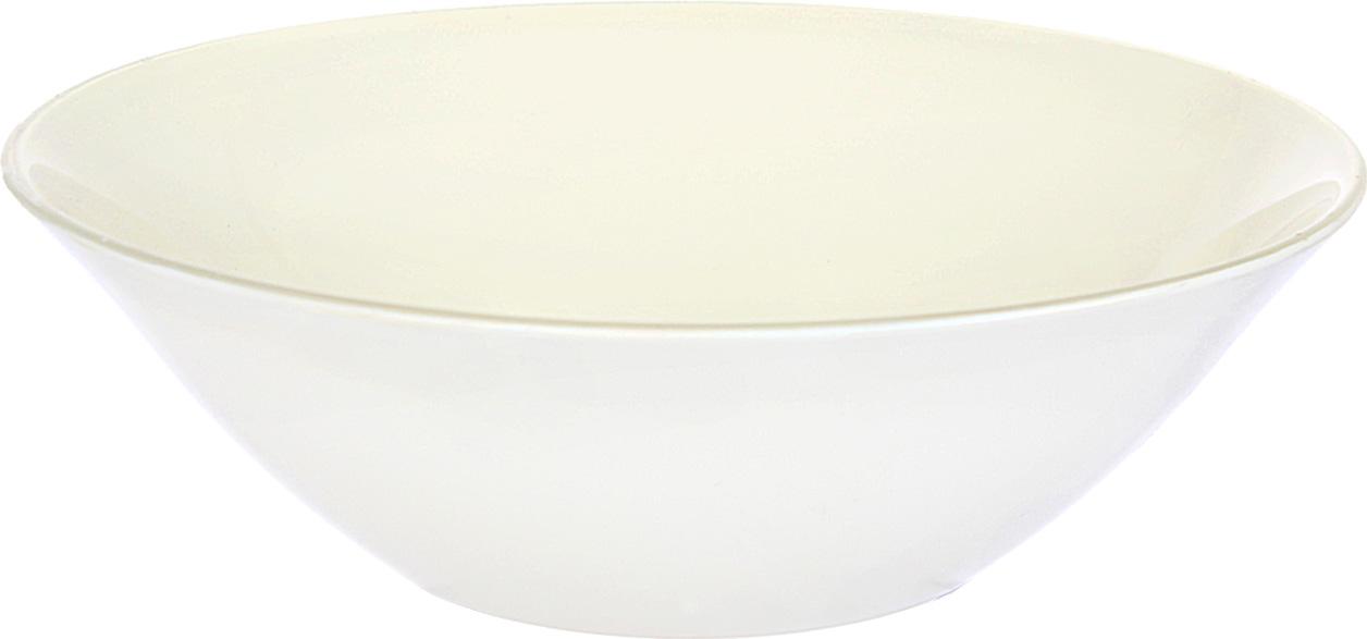Салатник, выполненный из высококачественного натрий-кальций-силикатного стекла, предназначен для красивой сервировки различных блюд.Новая весенняя коллекция. Бежевый цвет в интерьере выглядит спокойно, расслабляюще и консервативно. Можно использовать в микроволновой печи. Можно мыть в посудомоечной машине.
