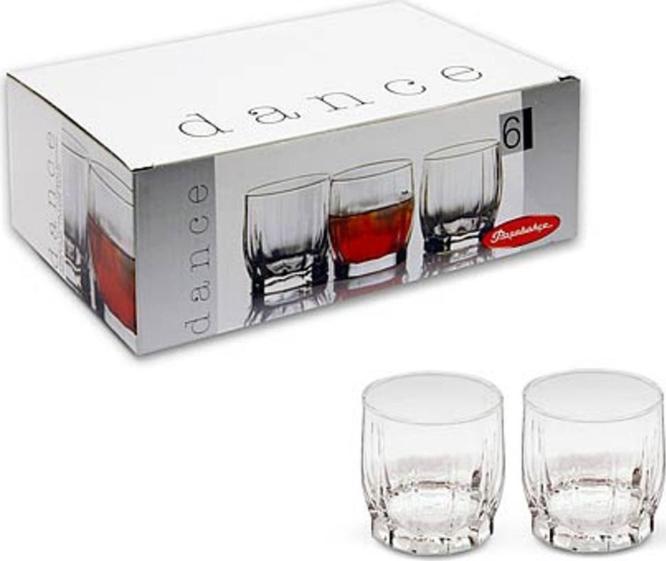 Набор стаканов Pasabahce Dans , цвет: прозрачный, 230 мл, 6 шт dans v 1600cc pasabahce 6 996038