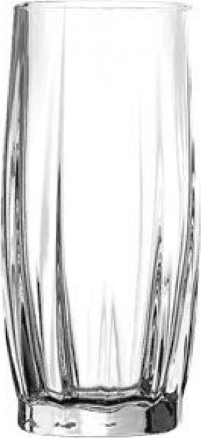 Набор стаканов Pasabahce Dans , цвет: прозрачный, 435 мл, 6 шт dans v 1600cc pasabahce 6 996038