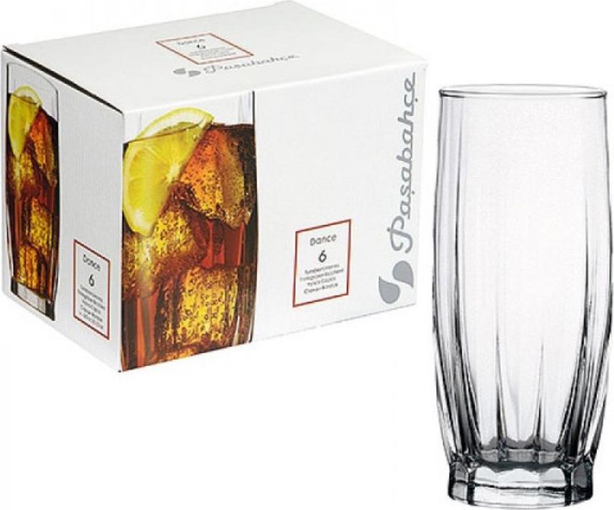 Набор стаканов Pasabahce Dans , цвет: прозрачный, 315 мл, 6 шт dans v 1600cc pasabahce 6 996038