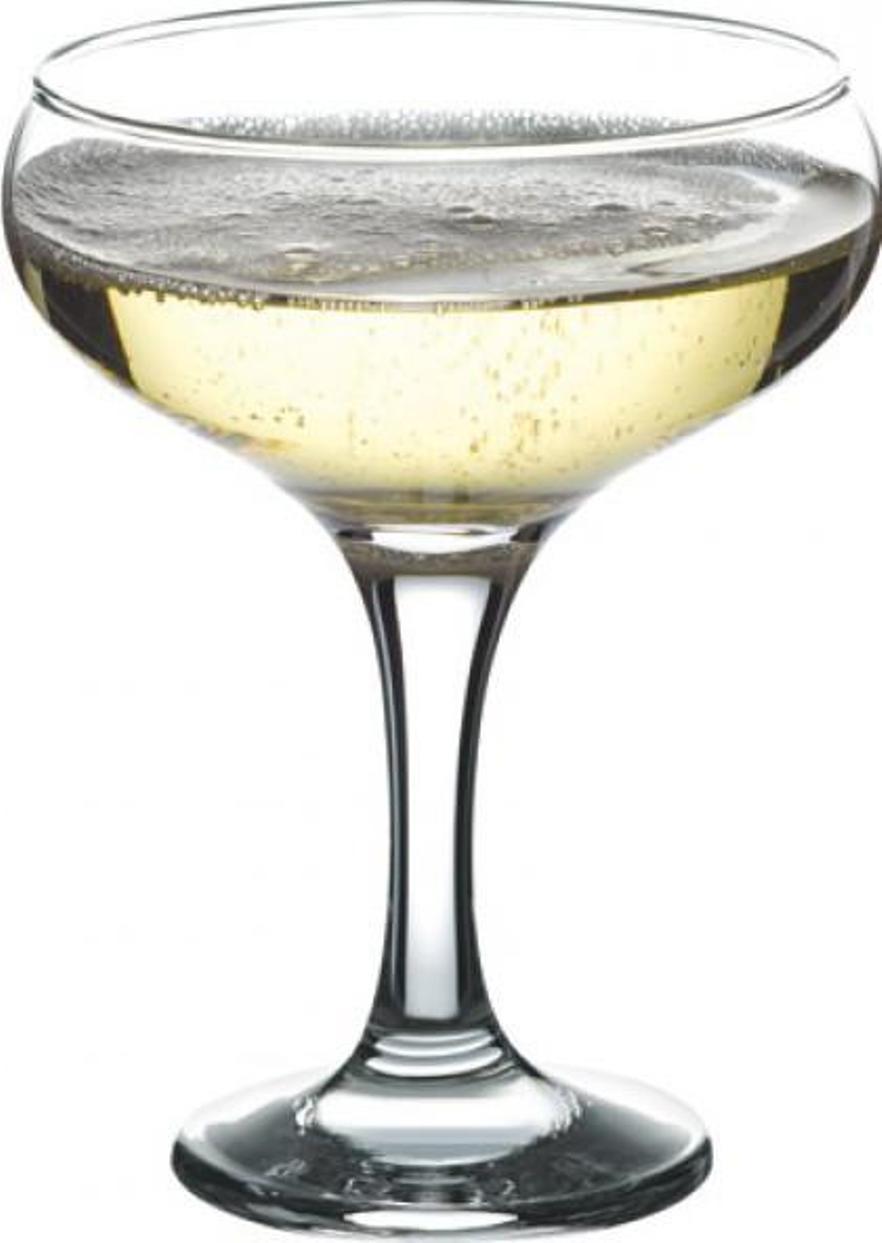 Набор фужеров для шампанского Pasabahce Bistro , цвет: прозрачный, 275 мл, 6 шт набор фужеров pasabahce bistro цвет прозрачный 275 мл 6 шт