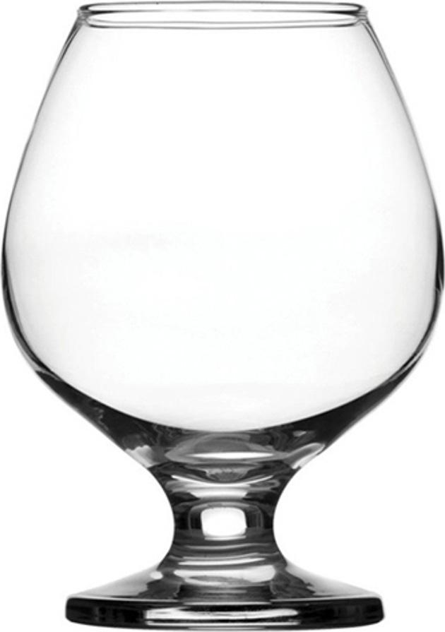 Набор фужеров для коньяка Pasabahce Bistro , цвет: прозрачный, 360 мл, 6 шт набор фужеров для шампанского pasabahce bistro 260 мл 6 шт