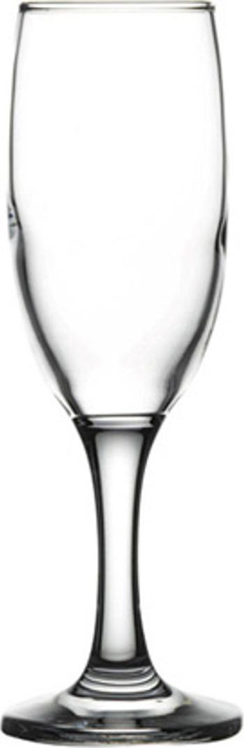 Фужер для шампанского Pasabahce Bistro , цвет: прозрачный, 180 мл фужер для шампанского pasabahce enjoy orange 175 мл