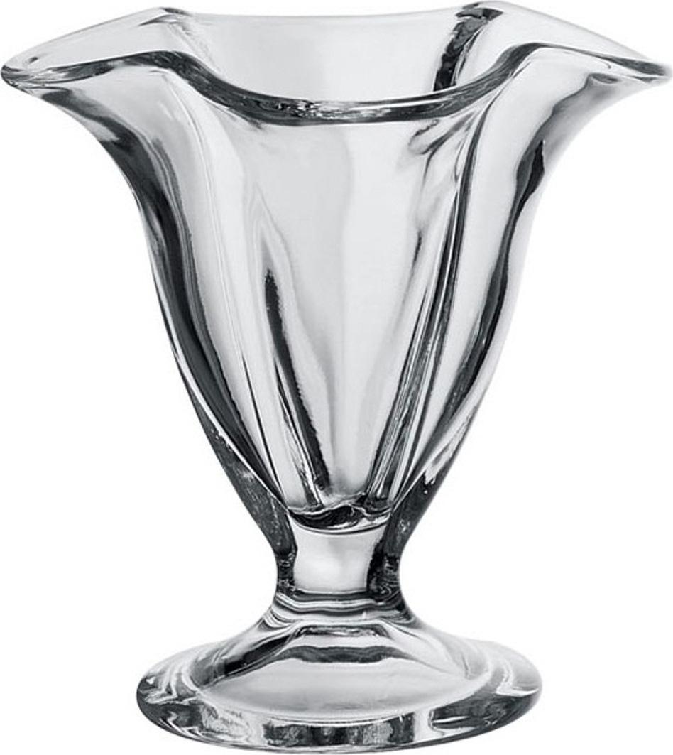 Набор креманок Pasabahce Iceville , цвет: прозрачный, 150 мл, 3 шт набор креманок buffet цвет прозрачный черный 200 мл 6 шт