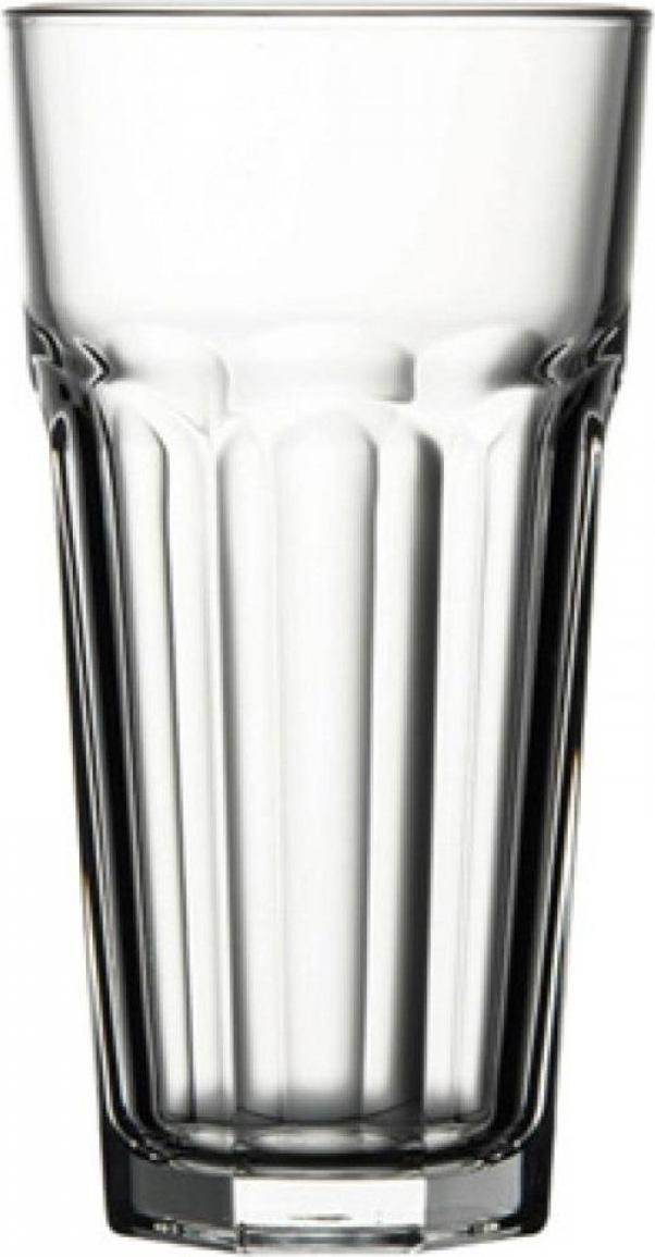 Стакан Хайбол Pasabahce Casablanka — высокий стакан, предназначенный для подачи прохладительных напитков и алкогольных коктейлей, приготавливаемых на основе минеральной воды, сока или содовой.     Благодаря специальной технологии производства посуда из закаленного стекла приобретает особую прочность и долговечность.