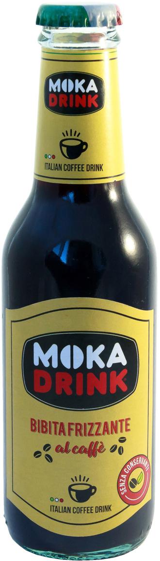 Moka Drink Напиток кофейный газированный, 0,2 л кофейный напиток santafe со сливками 175мл