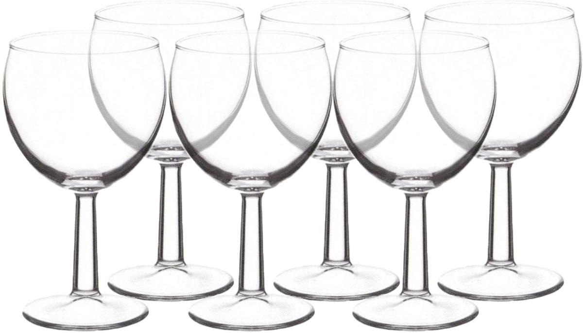 Набор из 6 бокалов для красного вина Banquet 195 мл от мирового лидера по производству посуды турецкой ТМ Pasabahce. Cтеклянная посуда имеет прекрасный эстетический вид, гармонична при сервировке, проста в уходе и абсолютно безопасна для здоровья.Посуда ТМ Pasabahce - это лучшее качество, огромный выбор посуды по доступным ценам.