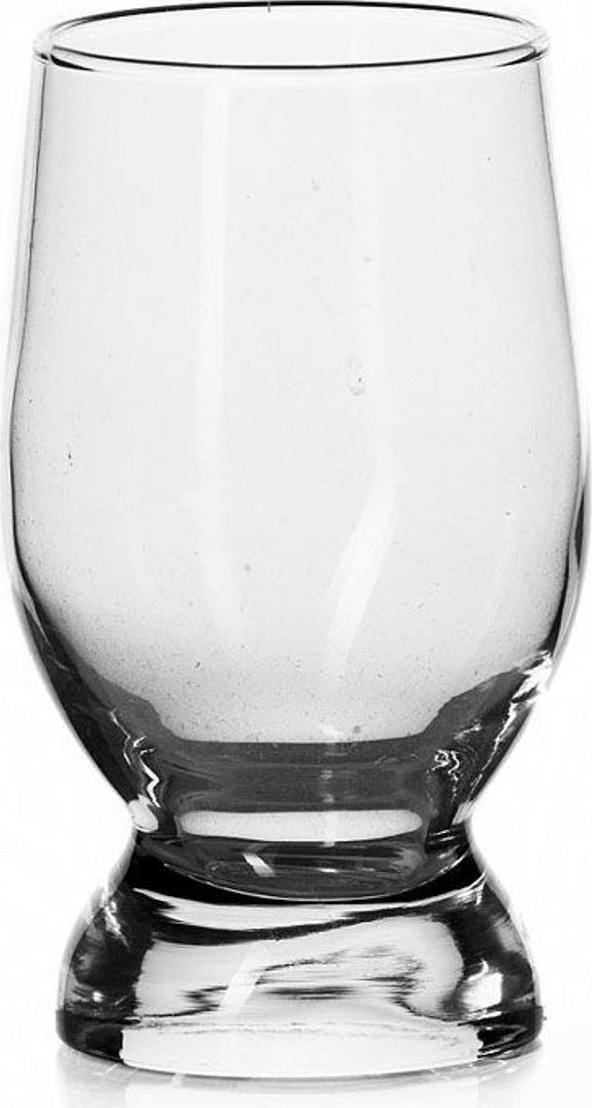 Стакан Pasabahce несомненно, придется вам по душе. Стакан предназначен для подачи холодных напитков, а также воды и сока. Он изготовлен из прочного высококачественного прозрачного стекла и имеет толстое дно.  Стакан сочетает в себе элегантный дизайн и функциональность. Благодаря нему пить напитки будет еще вкуснее.  Идеально подойдет для сервировки стола и станет отличным подарком к любому празднику.