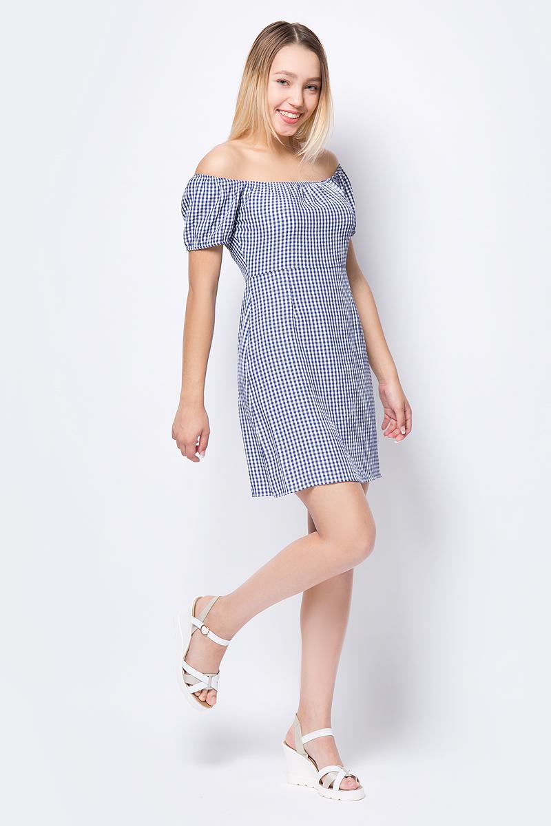 Платье adL, цвет: светло-синий. 12434506000_003. Размер XS (40/42)