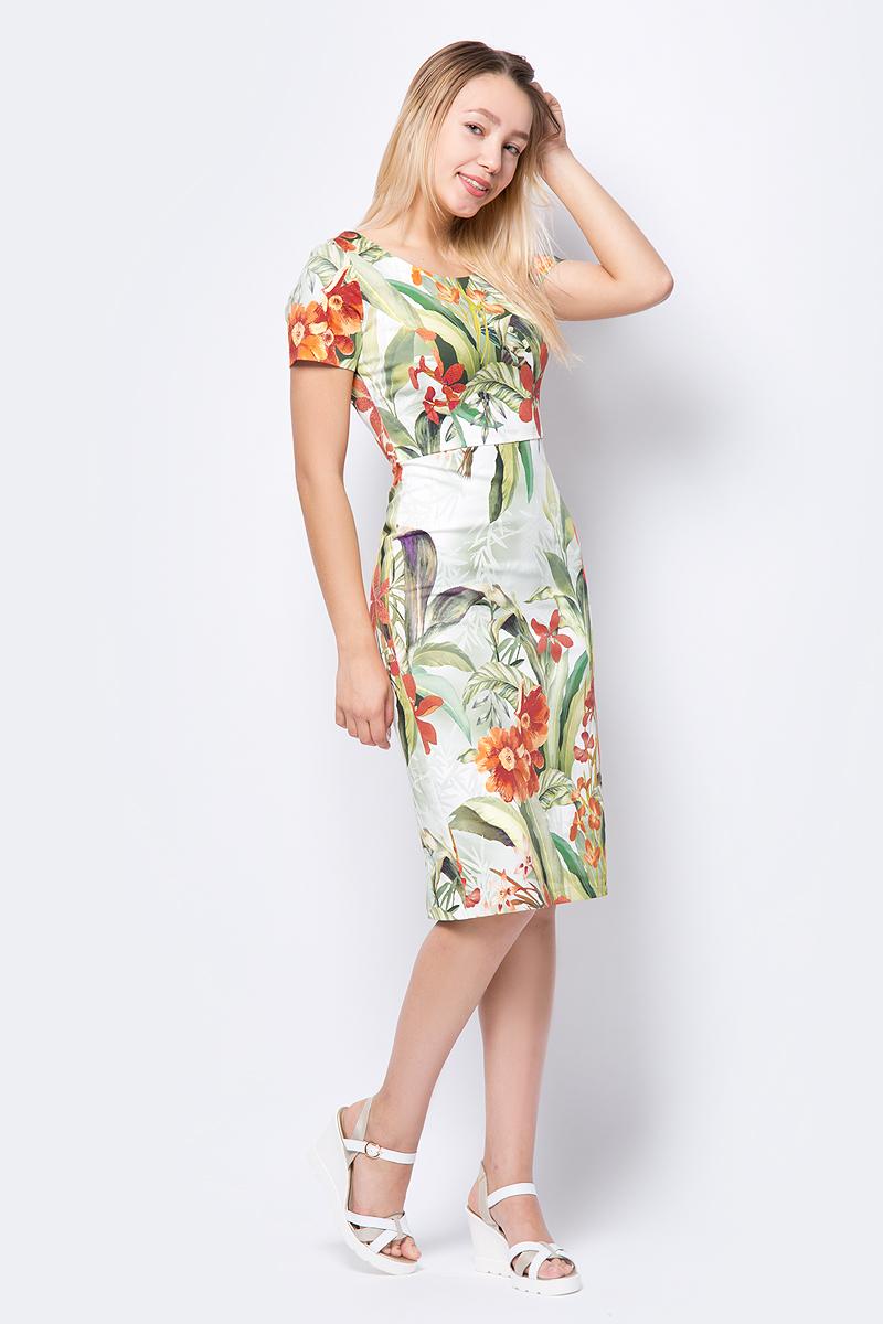 Платье adL, цвет: зеленый. 12434451000_209. Размер S (42/44)