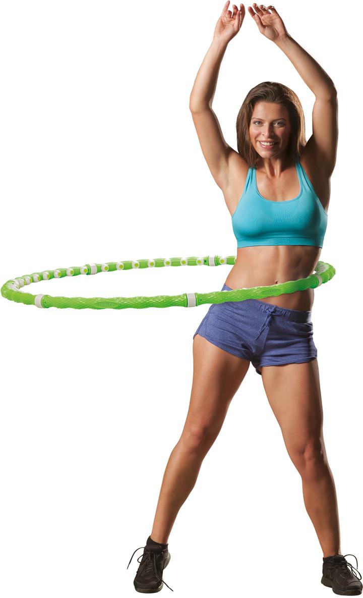 Обруч Torneo, цвет: зеленый, диаметр 93 см demix бейсболка demix
