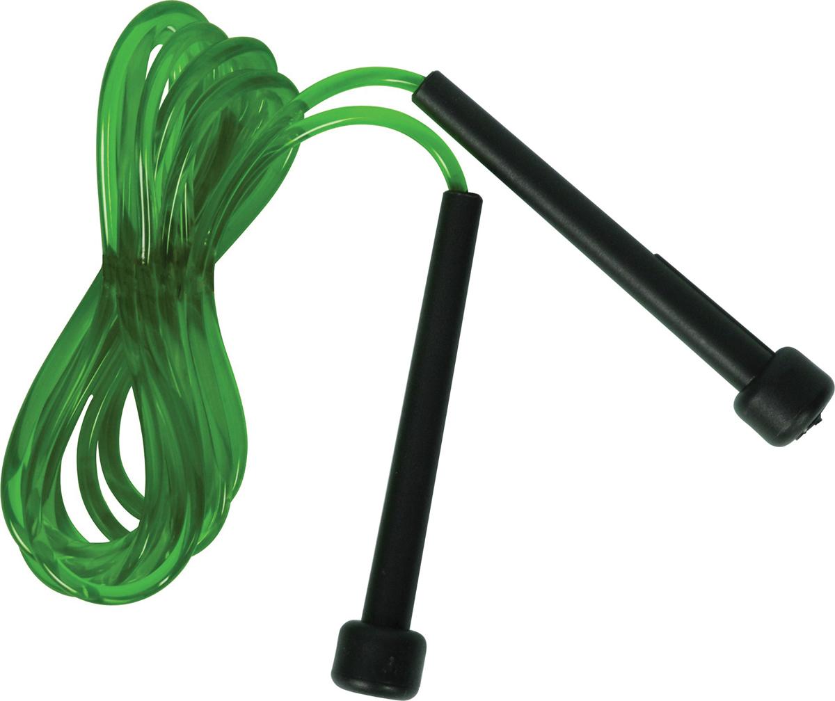 Скакалка скоростная Torneo, цвет: зеленый, длина 310 см torneo мини велотренажер torneo smart bike