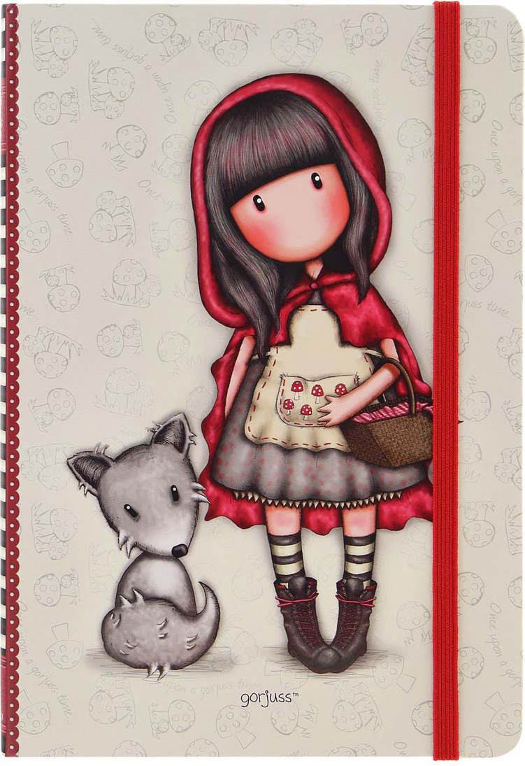Santoro London Блокнот Little Red Riding Hood 96 листов santoro блокнот ladybird pastel print
