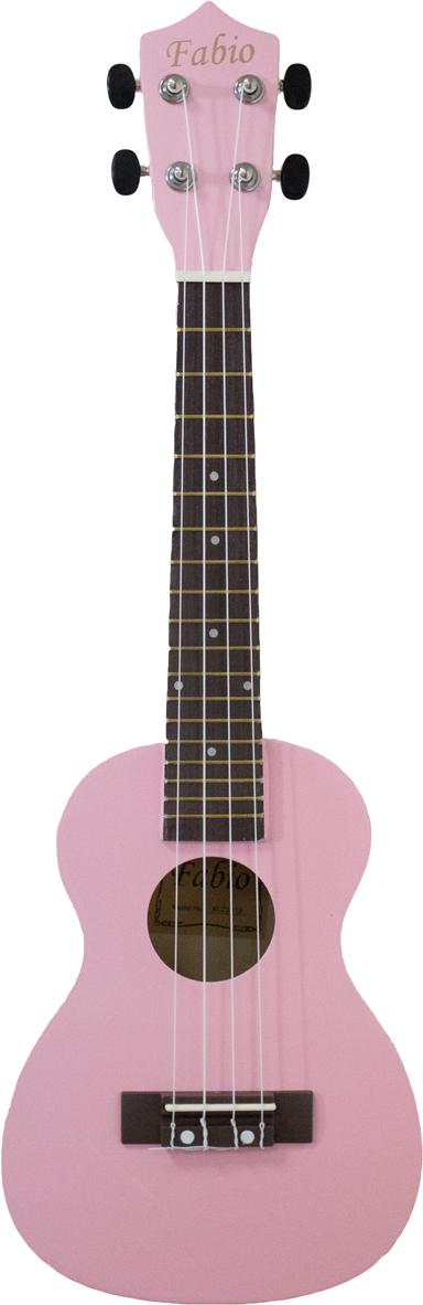 Fabio XU23-11, Pink укулеле