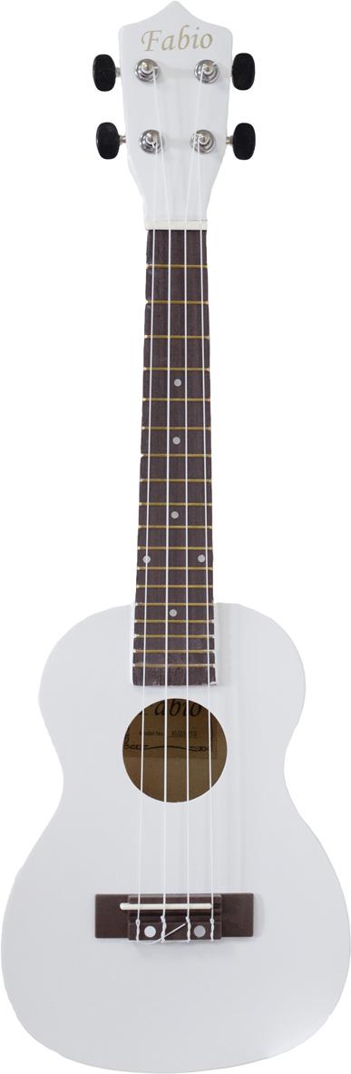 Fabio XU23-11, White укулеле