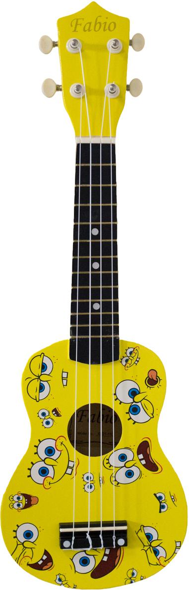 Fabio XU21-11D, Yellow Sponge Bob укулеле