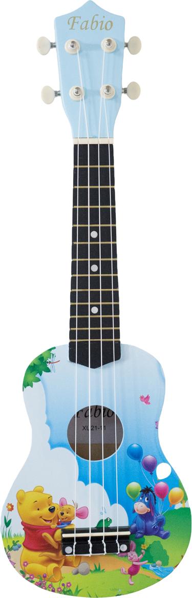 где купить Fabio XU21-11D BU Винни-Пух укулеле по лучшей цене