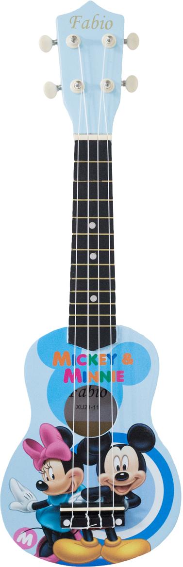 Fabio XU21-11D BU Mickey Mouse укулеле