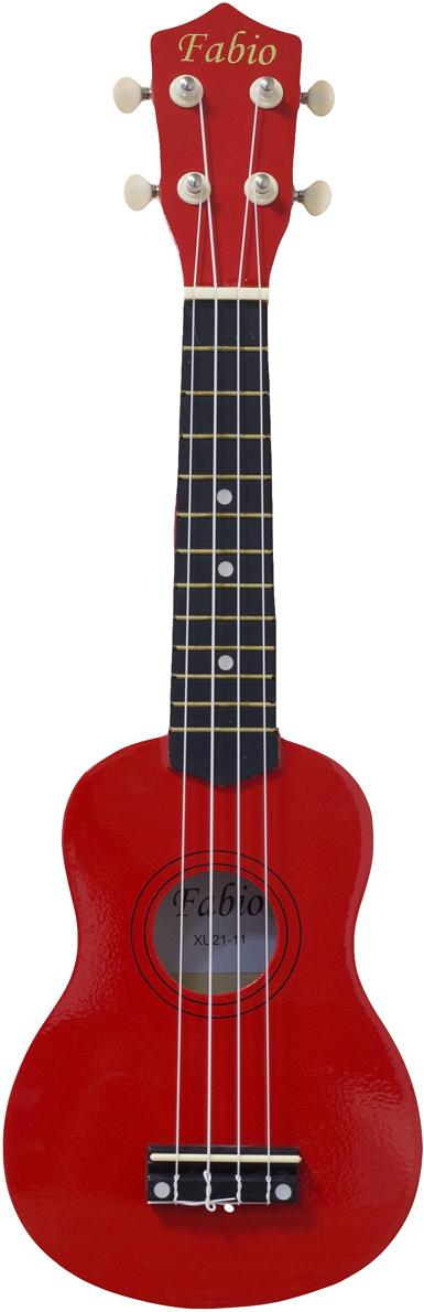 Fabio XU21-11, Red укулеле