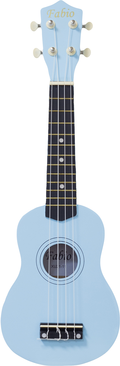 Fabio XU21-11, Blue укулеле