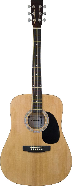 Fabio SA105, Beige акустическая гитара belucci bc3820 beige акустическая гитара