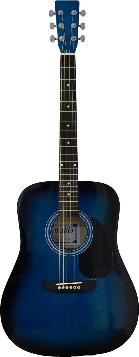 Fabio SA105, Blue акустическая гитара