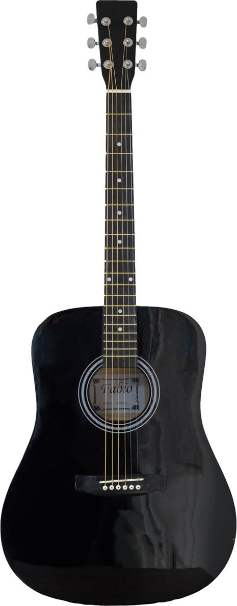 Fabio SA105, Black акустическая гитара