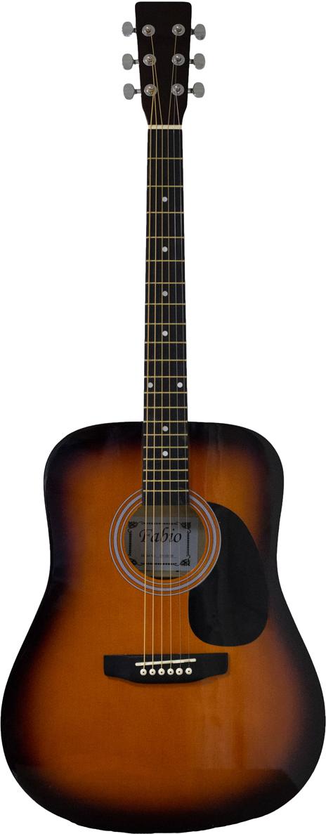 Fabio SA105, Yellow акустическая гитара акустическая гитара виды аккомпанемента и обыгрывание аккордов