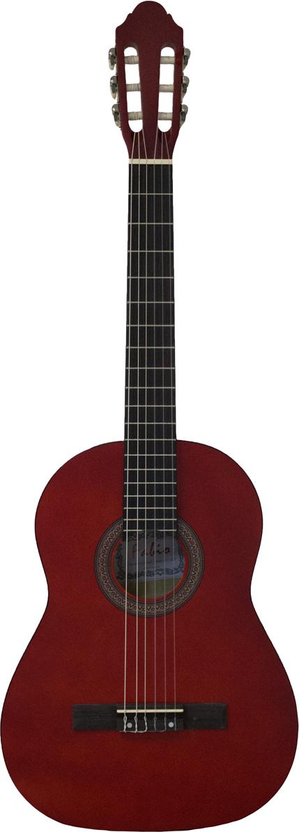 Fabio KM3911 , Red классическая гитара