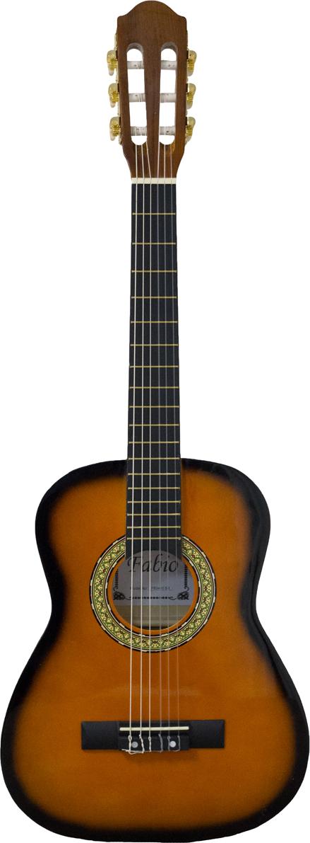 Fabio FB3410, Yellow классическая гитара