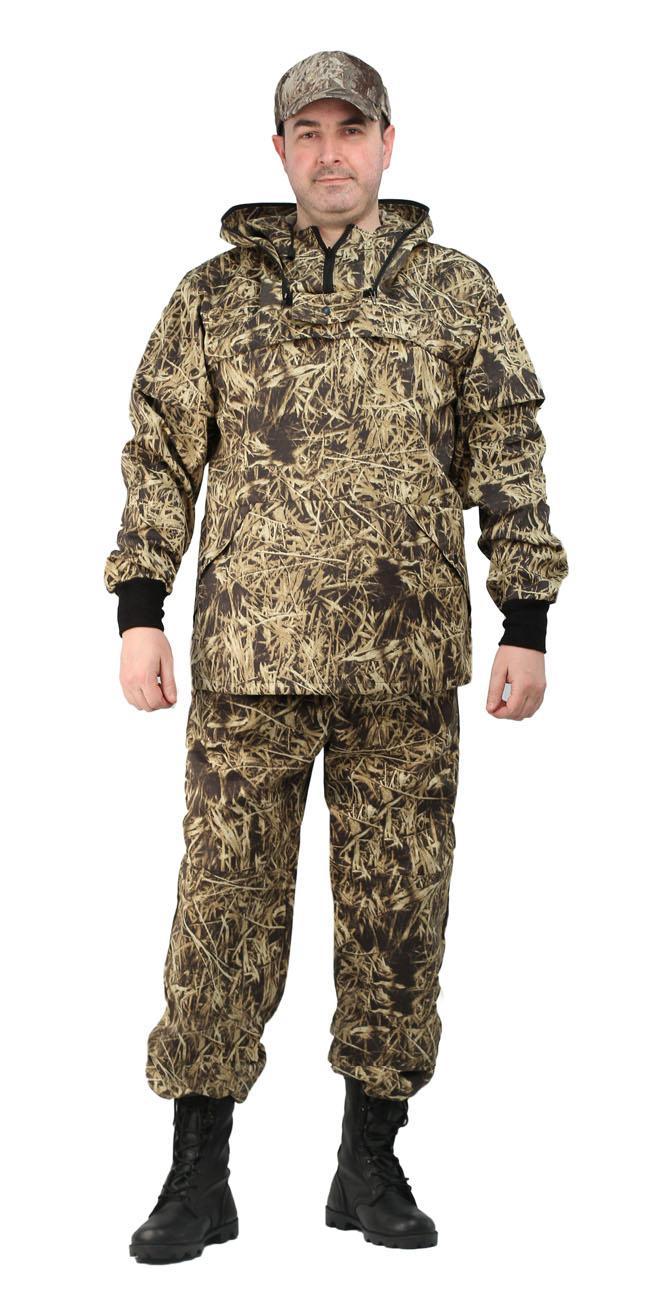 Костюм противоэнцефалитный мужской Ursus Солома: куртка, брюки, цвет: соломенный. КОС285-К21-1. Размер 56/58-170/176
