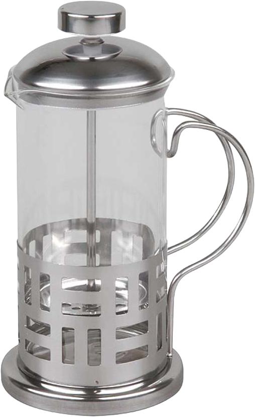 Если вы любите чай и кофе,то наверняка знаете, что поистине вкусны и ароматны бывают исключительно заварные напитки. Традиционно, для заваривания кофе используют турку, а для чая керамический чайник. Вы удивитесь, но оба этих предмета с легкостью объединяет в себе френч-пресс Rosenberg! Френч-пресс крайне удобен и практичен в использовании. Помимо уже упомянутых чая и кофе он также подходит для приготовления травяных, ягодных и фруктовых настоев. Просто засыпьте в колбу соответствующую заварку, залейте содержимое кипятком и дайте настояться. Когда напиток заварится и будет готов к употреблению, опустите поршень и подождите пока осадок опустится на дно. Такой отжим придаст напитку еще более насыщенный цвет и вкус. Особенности и преимущества френч-пресса: Прозрачная колба - напиток заваривается прямо у вас на глазах. Наличие фильтра-поршня обеспечивает равномерную циркуляцию воды. Эргономичная ручка френч-пресс удобно держать в руках. Особая форма носика предотвращает образование подтеков. Оригинальный дизайн френч-пресса прекрасно впишется в сервировку стола. Корпус модели выполнен из нержавеющей стали, а колба из устойчивого к перепадам температур стекла. Нержавеющая сталь повсеместно используется в производстве посуды и отличается прекрасными потребительскими свойствами.