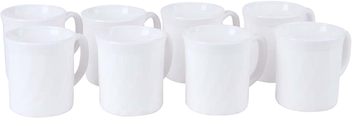 Набор чашек Rosenberg идеально подойдет как для ежедневного использования, так и для сервировки праздничного стола. Вместе с таким набором любой напиток, будь то кофе или чай, станут еще вкуснее и ароматнее. Чашки выполнены из качественного материала, что делает их удивительно износостойким и легким в уходе. Выдерживают высокие температуры. Устойчивы к различным химическим веществам. В набор входят 8 чашек из стеклокерамики. Материал абсолютно безвреден, не содержит вредных включений и длительное время сохраняет тепло напитка.